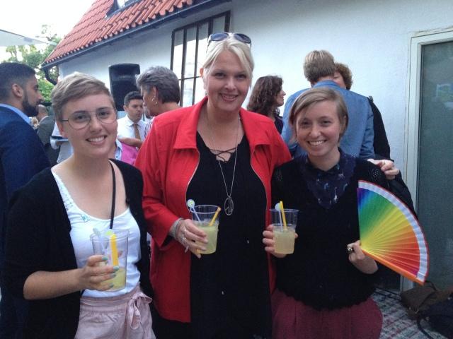Almedalsmingel med Anna Hedh (S) i Europaparlamentet.