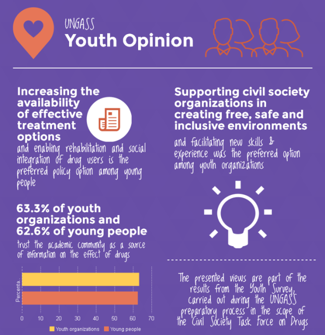 UNGASS NYC youth opinion chart