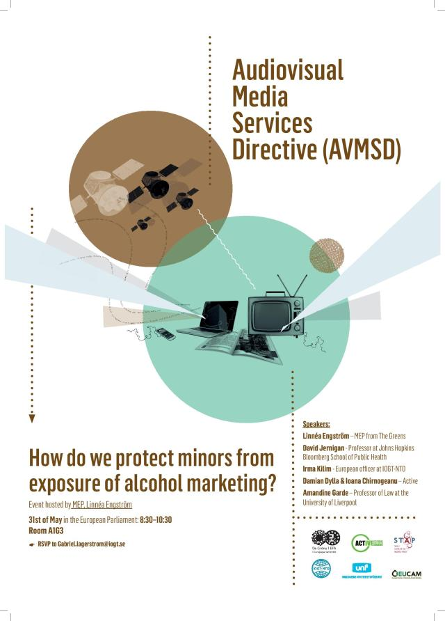How do we protect minors from exposure of alcohol marketing (Picture